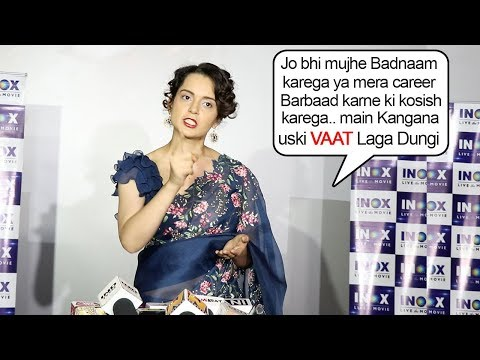 Kangana Ranaut's ANGRY Reaction On Manikarika Dir. Krish & Other Bollywood Celebs Spoiling Her Name