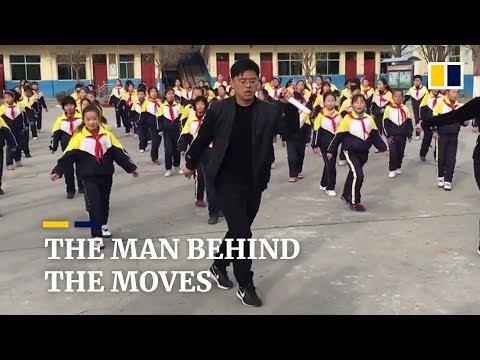 The story behind China's viral dancing school principal