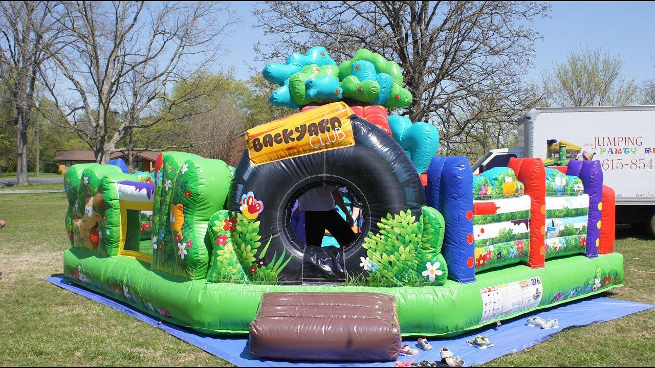 Backyard Toddler Bounce House Nashville Tn
