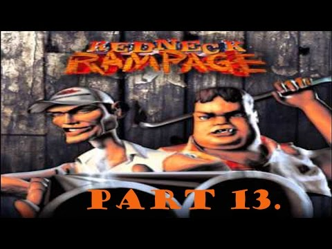 Redneck Rampage walkthrough part 13. (Uranium Mines)