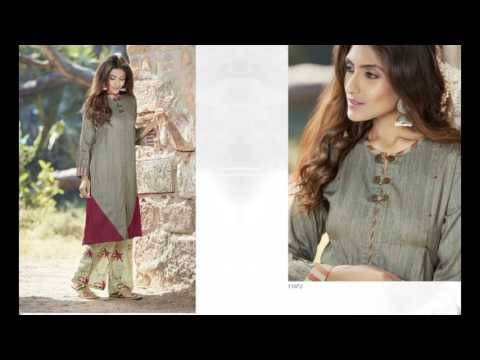 monnalisa Stylish Kurtis  ||  Designer Kurtis || Surat Textile bazaar