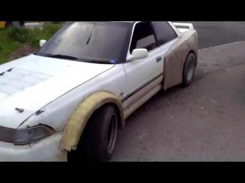 Ахуевший тюнинг Toyota mark2 GX81