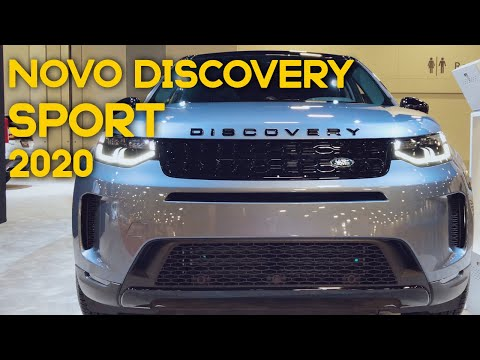 Novo Land Rover DISCOVERY SPORT 2020 no MIAMI INTERNATIONAL AUTO SHOW - Walkaround