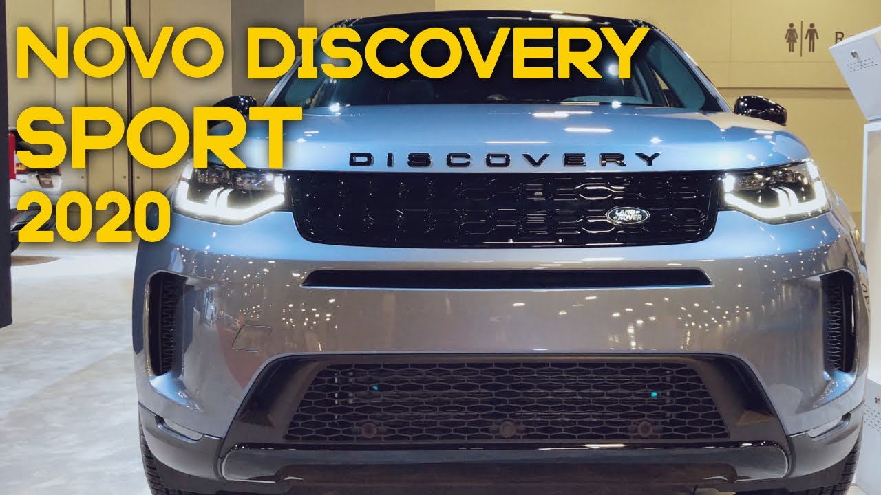 Novo Land Rover DISCOVERY SPORT 2020 no MIAMI INTERNATIONAL AUTO SHOW - Walkaround