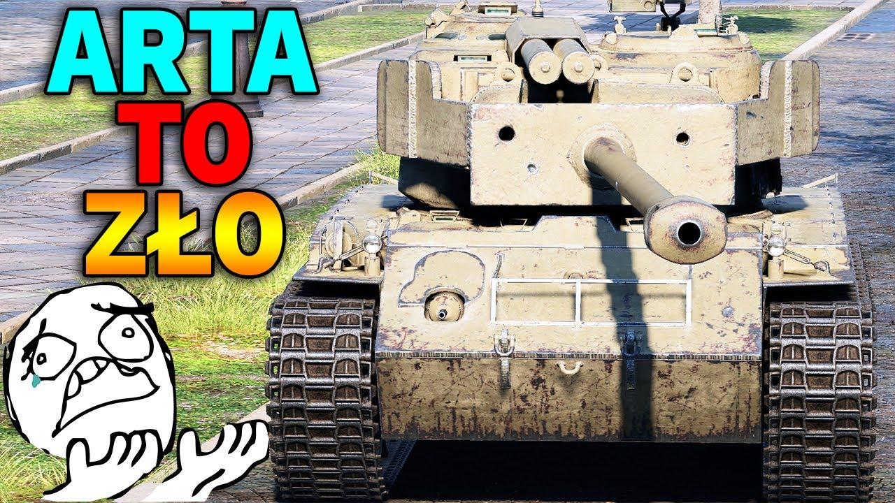 ARTA TO ZŁO !!! – Droga do Fioleta #6 – World of Tanks