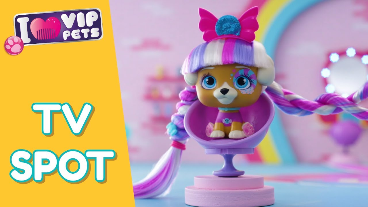 VIP PETS 🌈 SURPRISE DOLL WITH LONGEST HAIR REVEAL 💇🏼 12 to COLLECT 💕 TARGET TV SPOT 30s