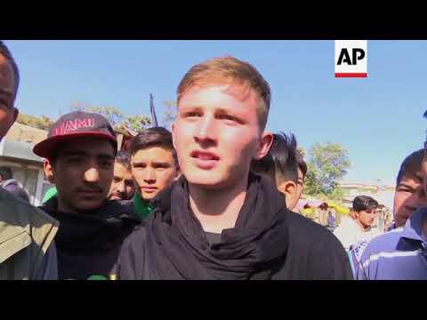 Eyewitness recounts Kabul suicide bombing impact