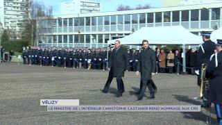 Yvelines | Christophe Castaner rend hommage aux CRS à Vélizy-Villacoublay