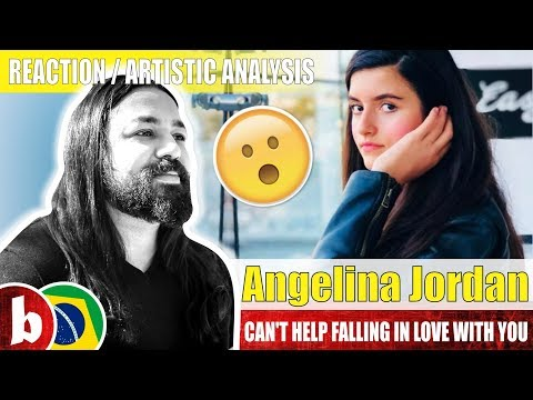ANGELINA JORDAN! Can't Help Falling in Love With You - Reaction
