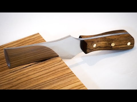 How to make a knife handle