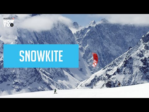 SNOWKITE TO ACCESS FREERIDE LINES | HOW TO XV