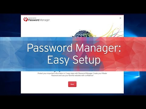 Getting Started with Trend Micro Password Manager - Part 1: Easy Setup