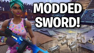 Insane Scammer perd NOUVEAU SWORD MODDED! 😱⚔️ (Scammer Get Scammed) Fortnite Save The World