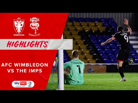 AFC Wimbledon Lincoln Goals And Highlights