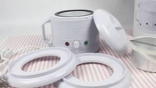 Баночный воскоплав Wax Heater 500С, 400 мл  | Обзор товара для восковой депиляции