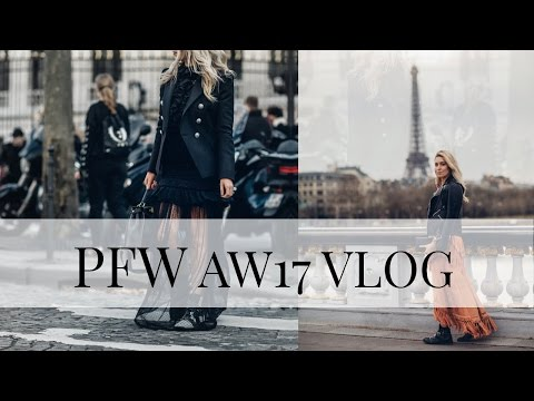 PARIS FASHION WEEK AW17 VLOG   WHAT YOU DON'T SEE ON INSTAGRAM