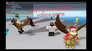 *ROBLOX i Meet StickMasterLuke In Natural Disaster Survival*