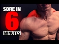 Trap Workout (SORE IN 6 MINUTES!)
