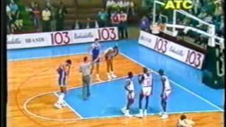 World Championship 1990 FIBA. Venezuela vs Yugoslavia. Parte 1/6