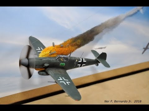 """""""Air War""""  Forced Perspective Wall Diorama Build"""
