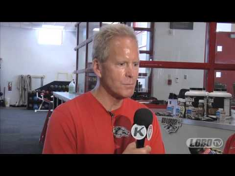 2013 Lobo Football | Coach Bob Davie: End of Spring Practice Press Conference