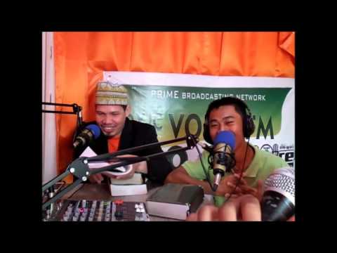 """KATOLIKONG GURO """"LIVE"""" NAG SHAHADA SA RADIO.BRO.KHALID SANCHEZ"""
