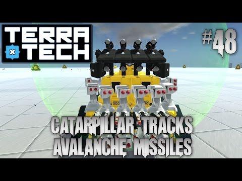 Terratech Hawkeye #48 Avalanche Missile Launcher, Autominer, Geocorp Catarpillar Tracks, Update 0 7