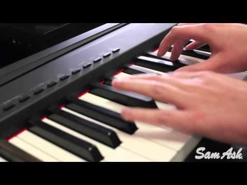 Yamaha P-95B Digital Piano at samash.com
