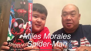 Spider Man into the spider verse. Matt's playtime Toy review Miles Morales