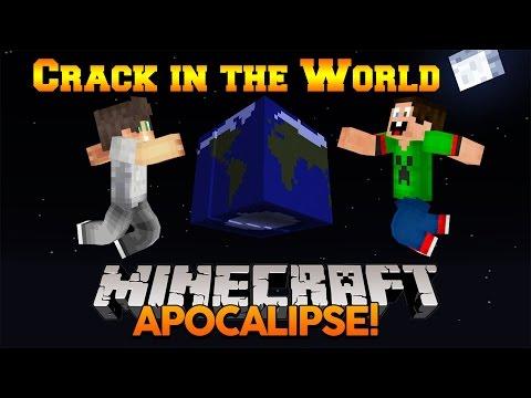 Minecraft Map: Crack in the World - /w mITkObOmBaTa