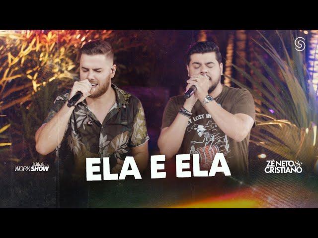 Zé Neto e Cristiano - ELA E ELA - DVD Chaaama