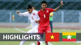 Khắc Khiêm tỏa sáng, U19 Việt Nam nhọc nhằn dành 1 điểm trước U21 Myanmar