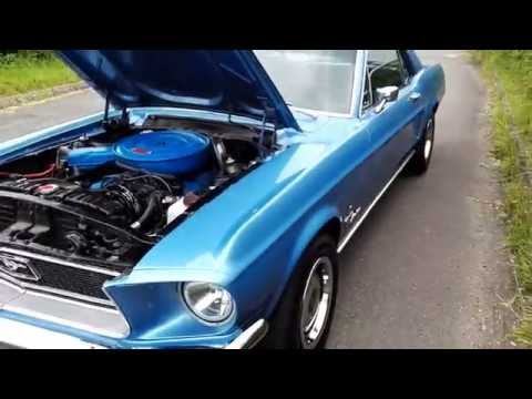 1968 Ford Mustang Brittany Blue