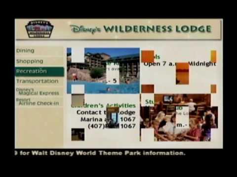 WDW Wilderness Lodge Channel 19