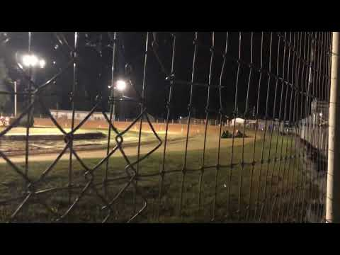 1st time racing karts had wrong gear on. 10/11/19. - dirt track racing video image