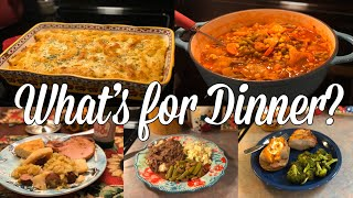What's for Dinner?| Easy & Budget Friendly Family Meal Ideas| November 4-10, 2019
