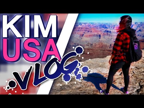 Kim's USA Road Trip! THE GRAND CANYON!