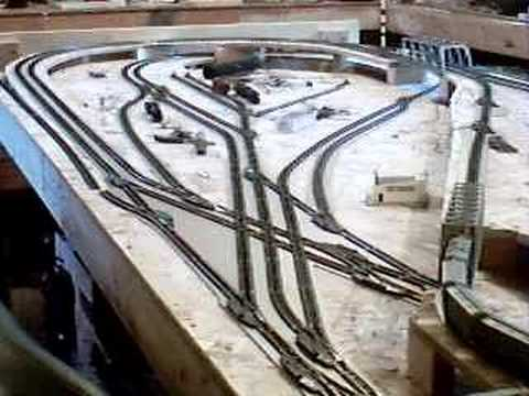 Crash at the crossing !!!!! N scale