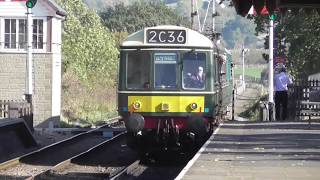 The Gloucestershire Warwickshire Steam Railway.