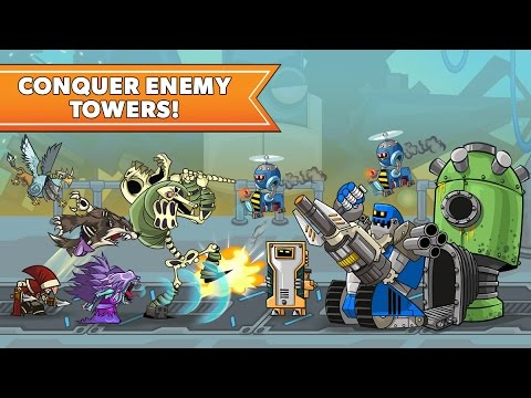 Tower Conquest (Part 2) Strategy Defense Games Videos games for Kids