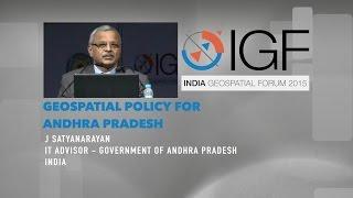 Geospatial policy for Andhra Pradesh