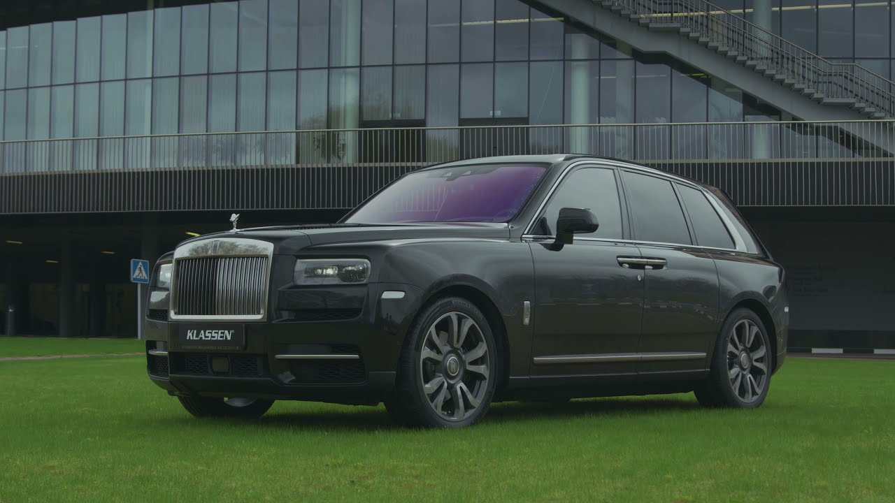 ARMORED ROLLS-ROYCE CULLINAN - Gepanzerte SUV - Made in Germany - Armored Vehicles - by KLASSEN