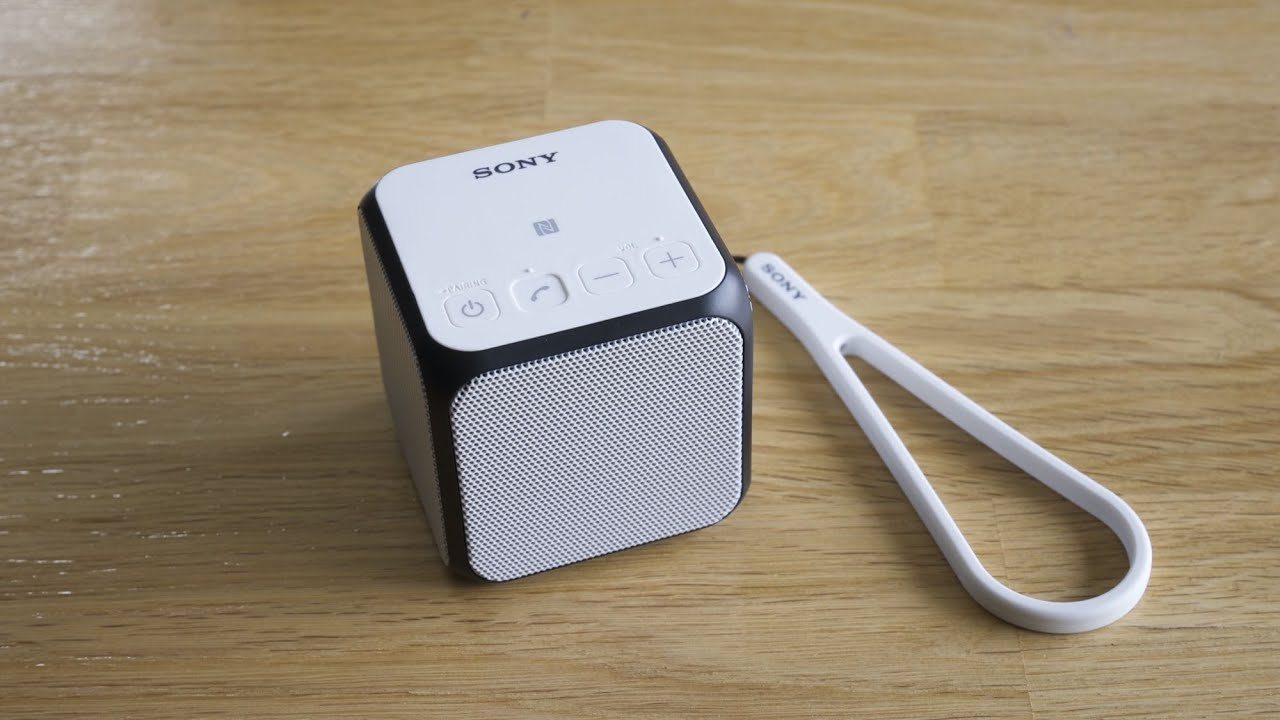 Bose Soundlink Back Sony SRS-X11 soundchec...
