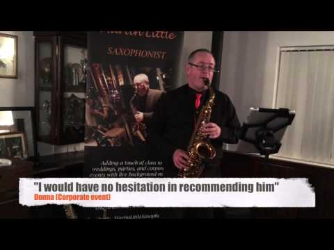 "Martin Little - Saxophonist - ""Happy"" promo video"