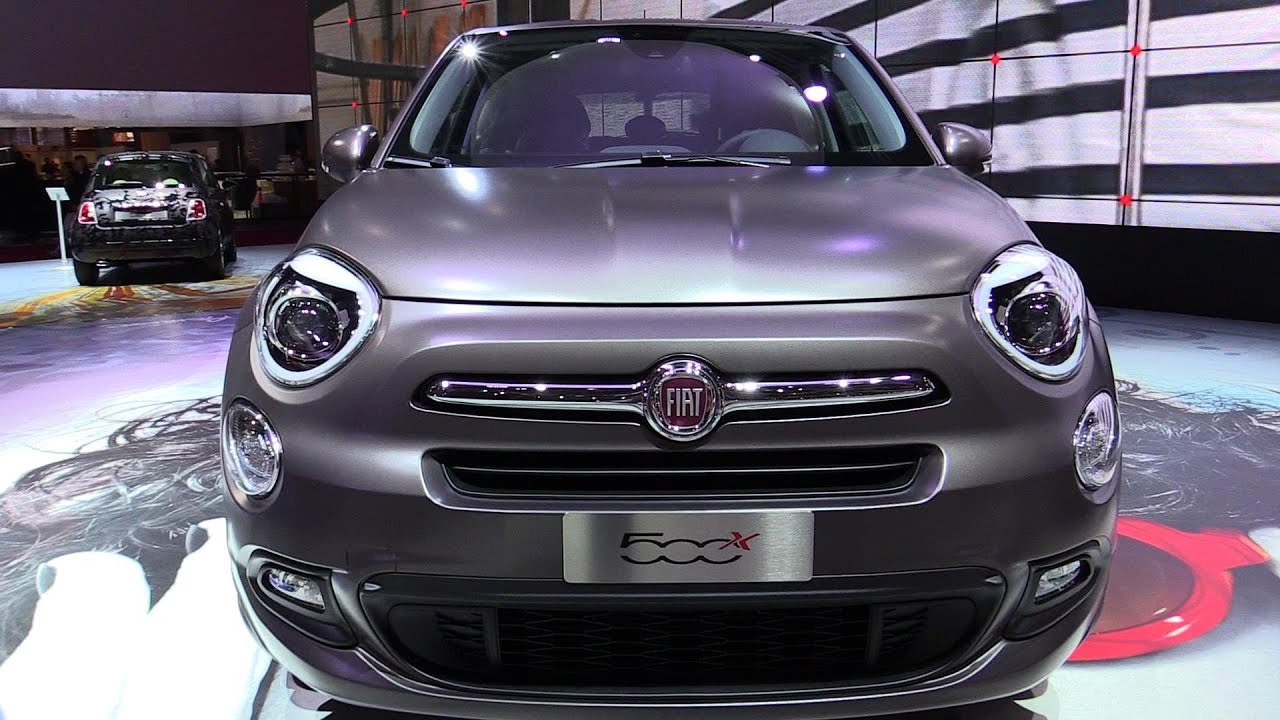 2015 fiat 500x exterior and interior walkaround debut at 2014 paris auto show youtube. Black Bedroom Furniture Sets. Home Design Ideas