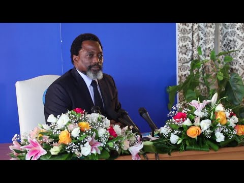 Congolese President Kabila holds rare press conference amid tensions