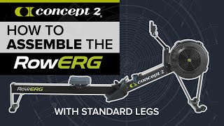 Concept2 Rower Assembly: H๐w to Assemble your Concept2 RowErg Rowing Machine