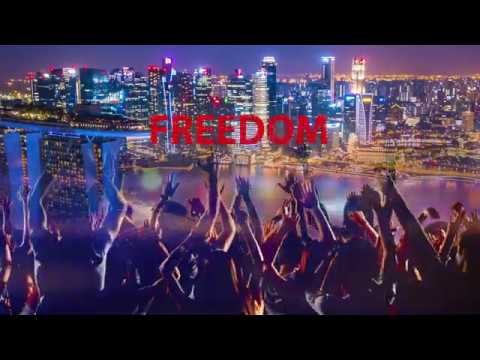 André LeFrance - Freedom Free World (Lyric Video)