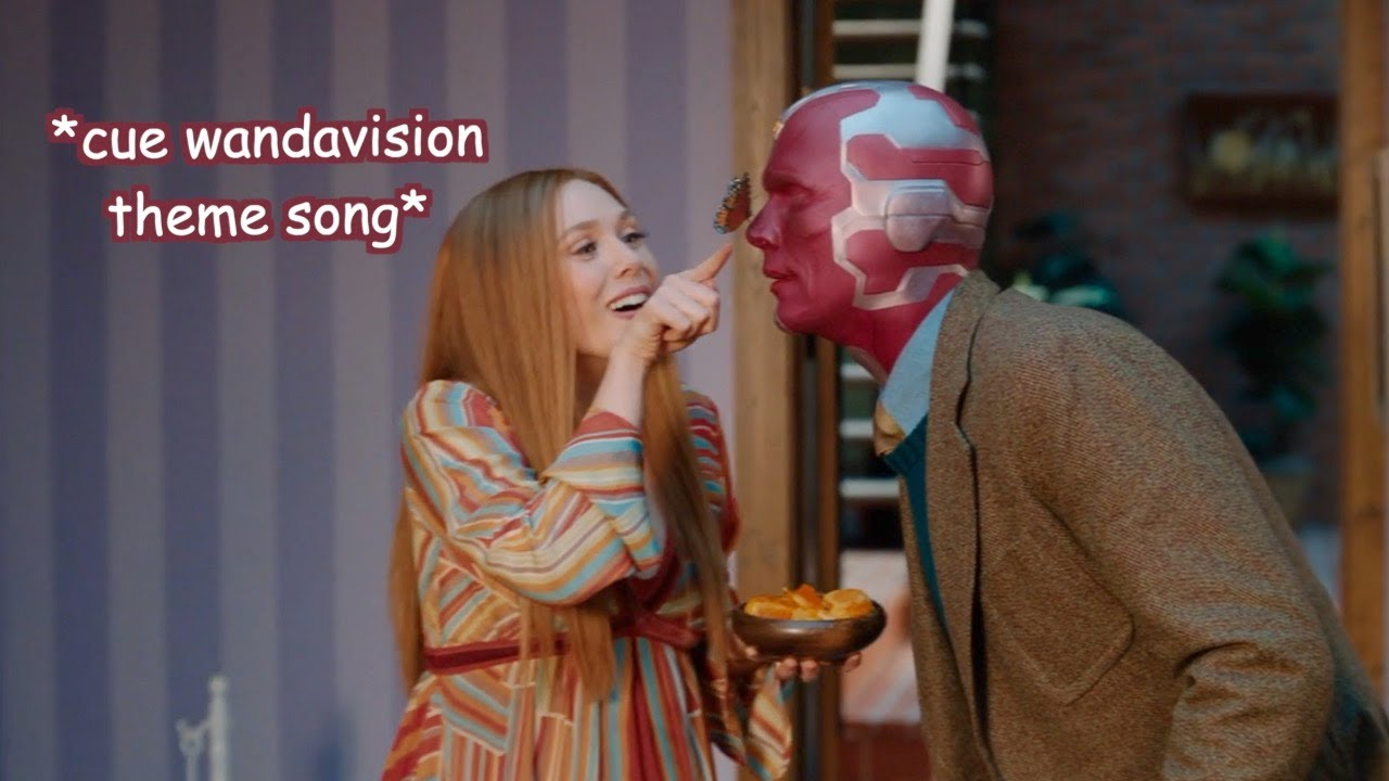 Download wanda and vision being an *unusual couple*
