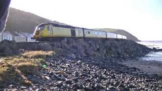 Network Rail HST Test Train & DMUs 07.02.14